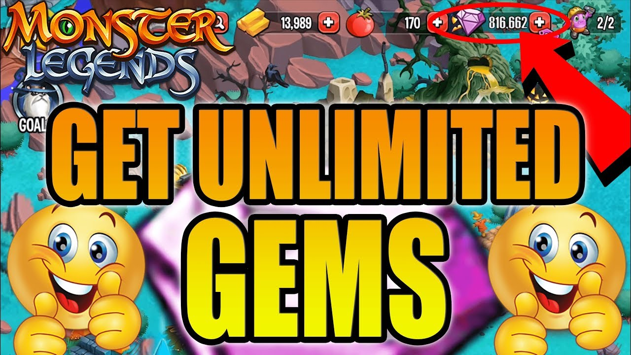How to Get Free Gems in Monster Legends