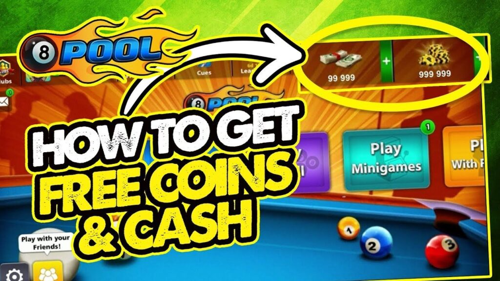 How To Get Free Coins on 8 Ball Pool